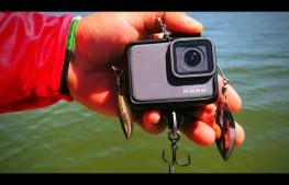 Video: Usa su GoPro como SEÑUELO para PESCAR